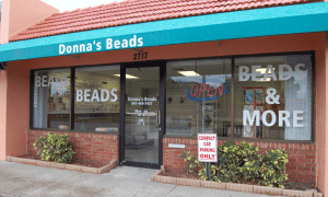 Donna's Beads Store Front